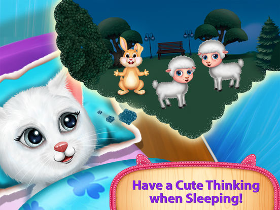 Cute Kitty's Bedtime Activities screenshot 6