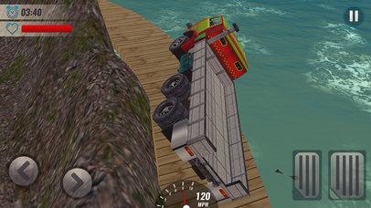 Impossible Track Truck Driver Simulator 3D screenshot 5