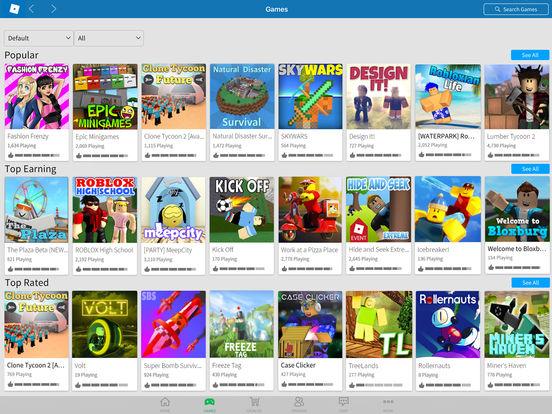 ROBLOX iPad