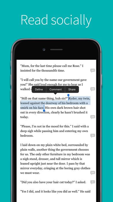 Screenshots of Wattpad - Free Books for iPhone