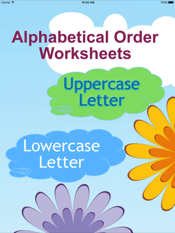 ABC Alphabetical Letters Order Game On The App Store