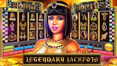 Screenshot 2 Queen Cleopatra & Caesars Era — Vegas Casino Slots