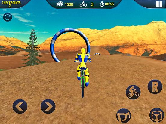 Spider Superhero Bicycle Riding: Offroad Racing screenshot 5