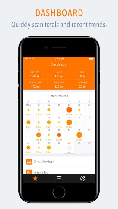 Tempo - Training Log f... Screenshot