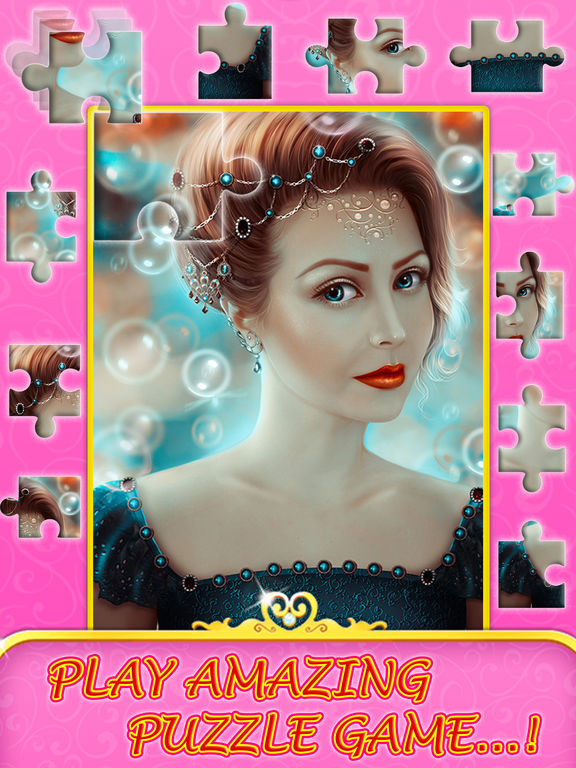 Angel princess puzzle screenshot 7