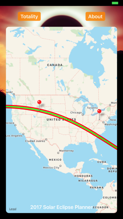 Solar Eclipse Planner Pro - Great American Eclipse Screenshot