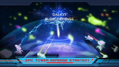 Galaxy Glow Defense screenshot 1
