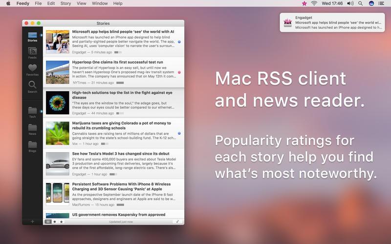 Rss 新闻订阅 Feedy for Mac
