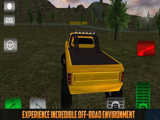 Offroad Truck: Forest Adventure screenshot 4