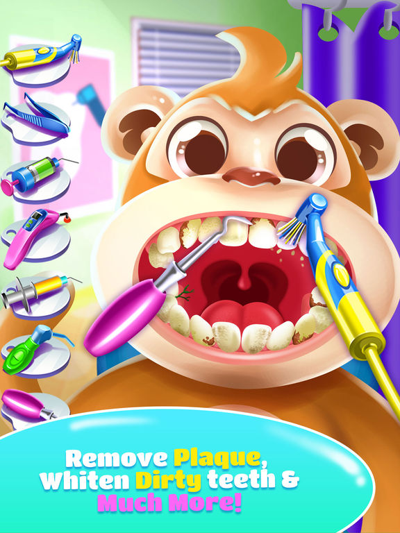 Pet Dentist Doctor Game! screenshot 8