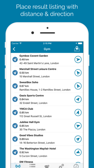 Place Finder PRO - Search Places Around Me Screenshots