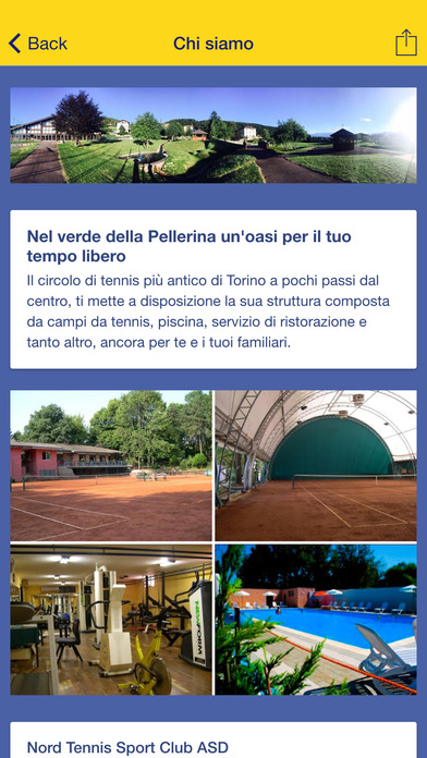 Nord Tennis Sport Club screenshot