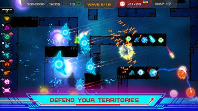 Galaxy Glow Defense screenshot 5