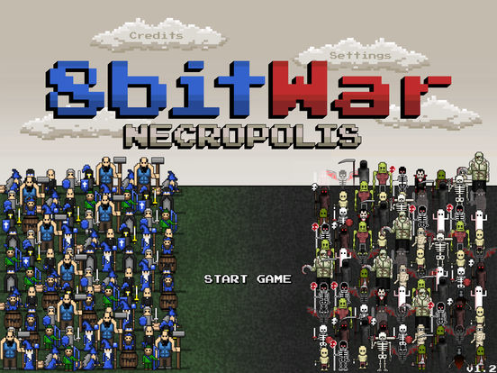 8bitWar: Necropolis Screenshots