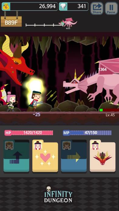 Infinity Dungeon Evolution Скриншоты3