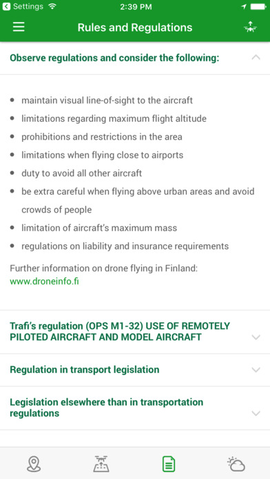 Droneinfo screenshot 3