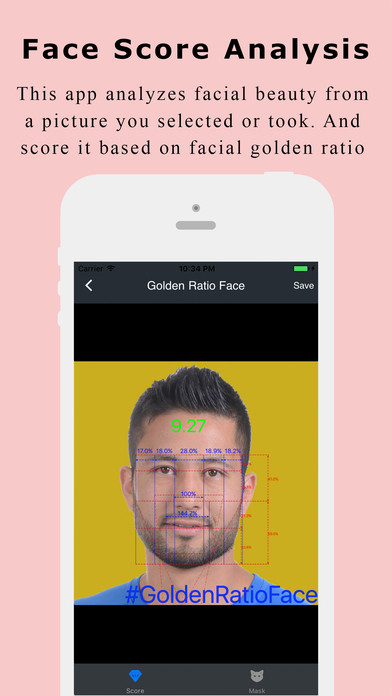 Face Analysis - Golden Ratio Face Screenshots