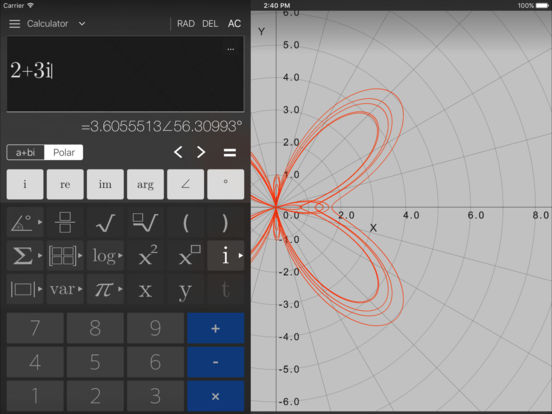 Visual MATH 4D Screenshots