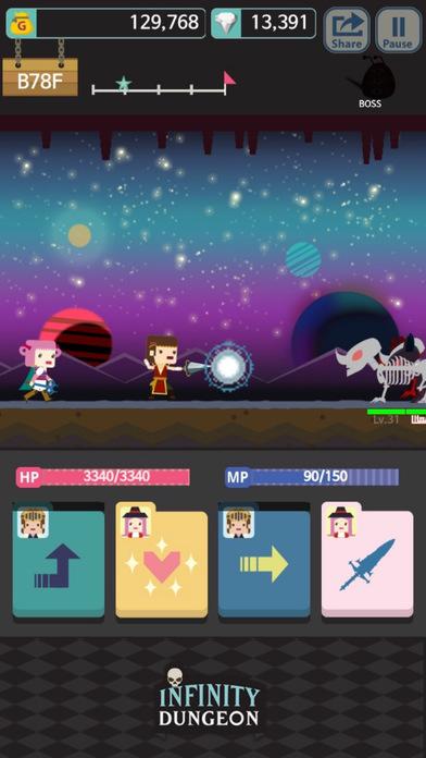 Infinity Dungeon Evolution Скриншоты7