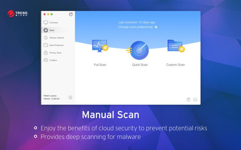 Trend Micro Antivirus Elite Screenshot