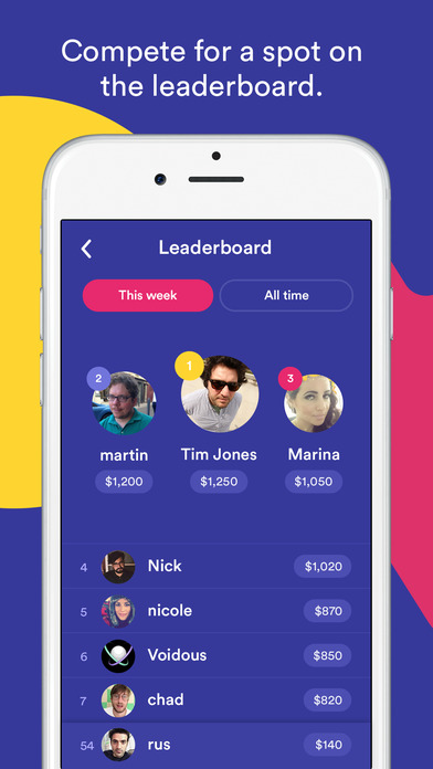 HQ - Live Trivia Game Show screenshot 4