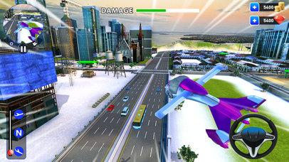 летающий робот Трансформация: реальный бой Боты Скриншоты3