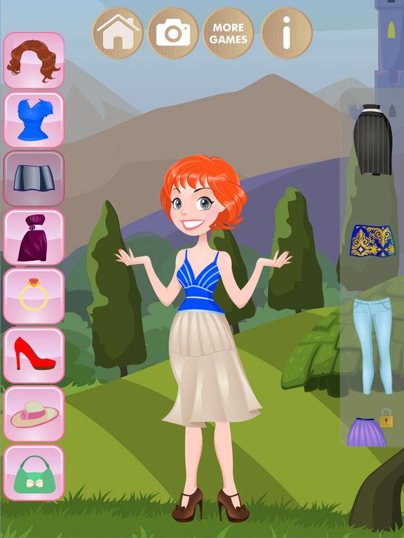 Одевалки - Игры для девочек детей и малышей Скриншоты4
