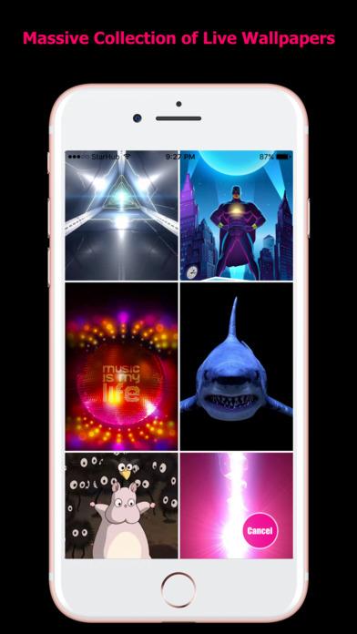 HD Live Wallpapers for iPhones screenshot 4