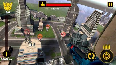 US Army Sniper Robots Futuristic Battle screenshot 5