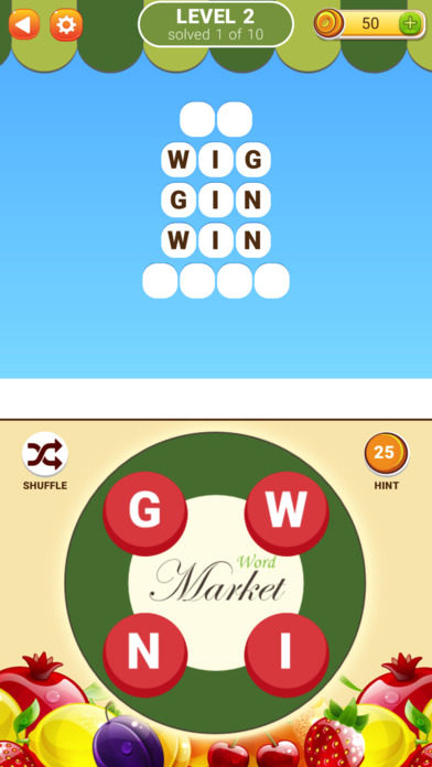 Word Market 2 screenshot 1