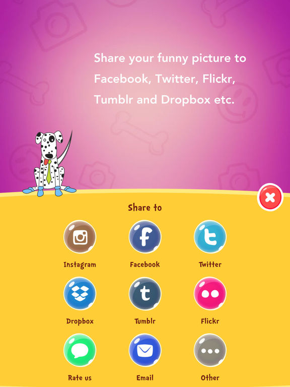 SnapFun Pro -  taking cool and funny photos Screenshots