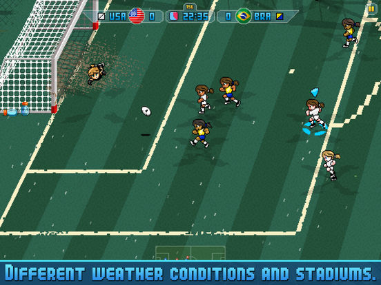 Pixel Cup Soccer 16 Screenshots