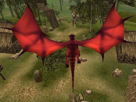 VR Супер Полет Огненный дракон-Real 3D симулятор Скриншоты10