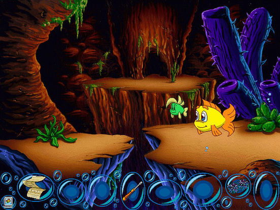 Игра Freddi Fish 4: The Hogfish Rustlers of Briny Gulch