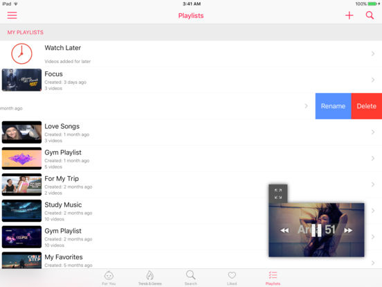 Musictube pro- Videos and Music for YouTube Screenshots