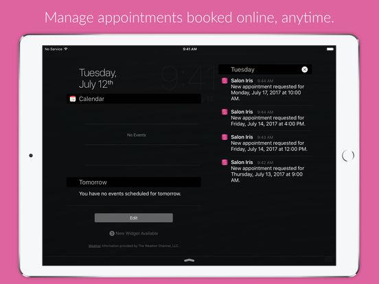 Salon Iris iPad Screenshot 3