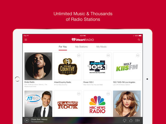 iheartradio iPad Screenshot 1