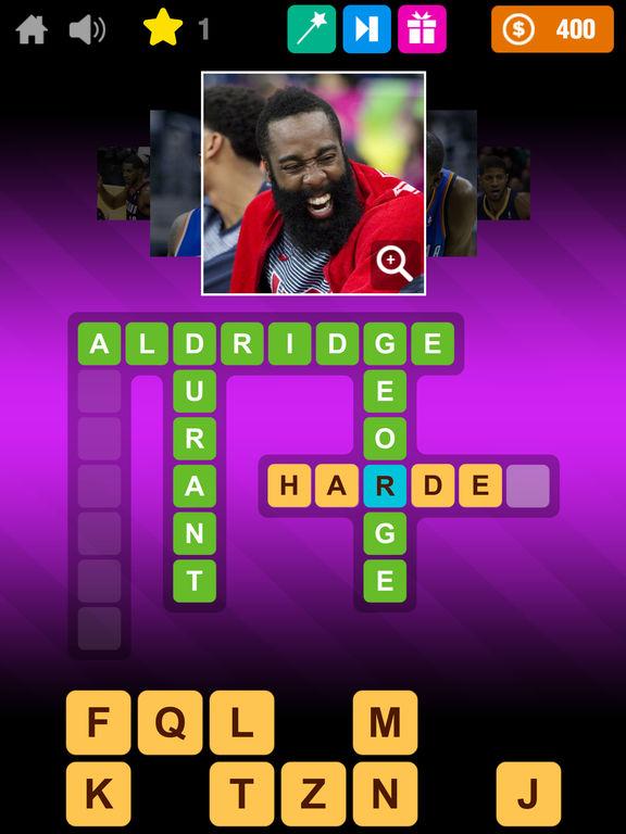 Crossword Basketball screenshot 9