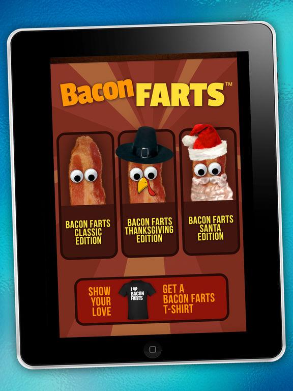 Bacon Farts App - Best Fart Sounds - Santa Edition Screenshots