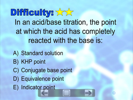 Chemistry Flashcard(s) iPad Screenshot 1