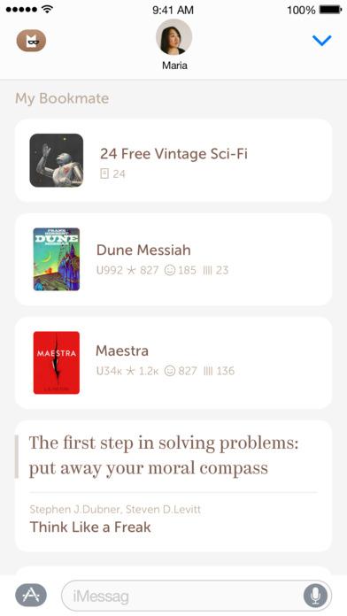 Bookmate iPhone Screenshot 7