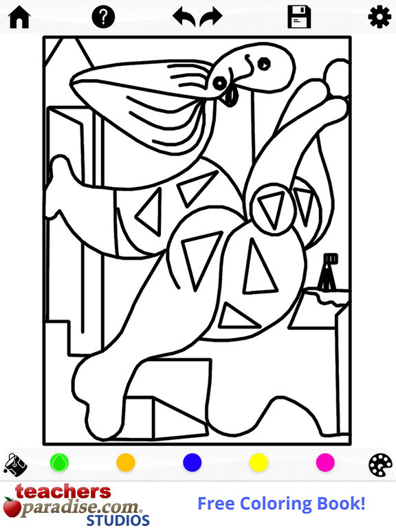Coloring Book Not On Itunes Picasso For Adults The App Store