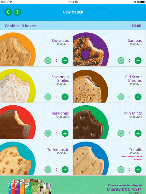 digital cookie mobile app by girl scouts of the usa