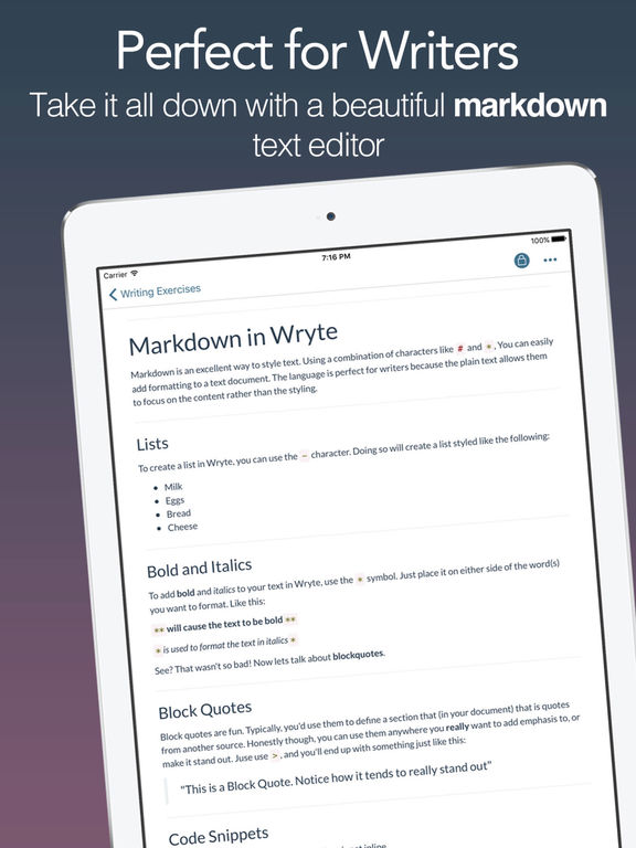 Write.r - Markdown for Writers and Authors Screenshots