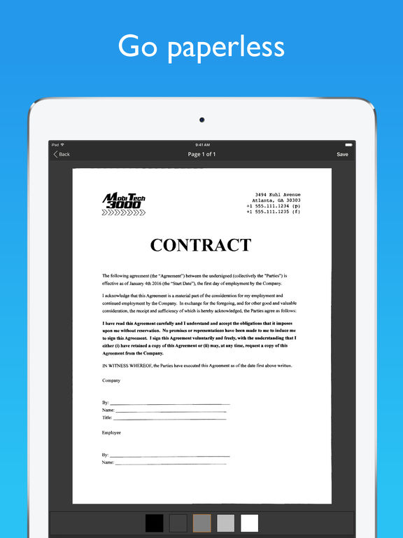 JotNot Pro - PDF Scanner App Screenshots