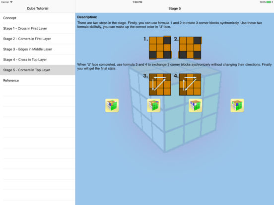 Cube Tutorial iPad Screenshot 2