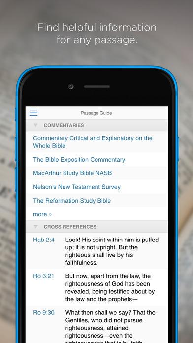 Logos Bible Software iPhone Screenshot 4