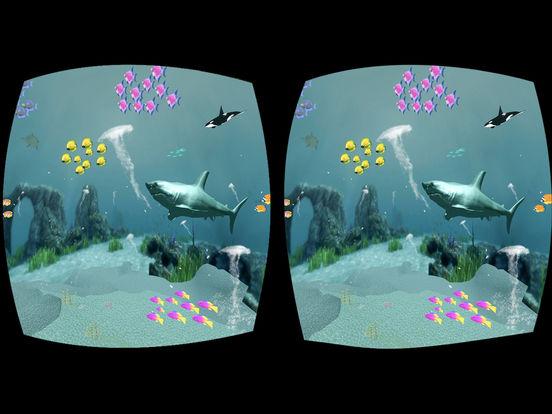 App shopper hungry shark attack virtual reality fishing for Virtual reality fishing