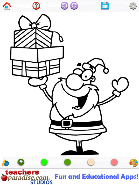 App Shopper Christmas Coloring