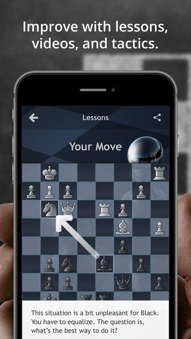 Chess.com - Play & Study Chess iPhone Screenshot 3